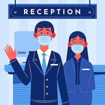 Plat bio nouveau normal dans les hôtels