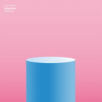 Plate-forme ronde pour la présentation de l'affichage du produit