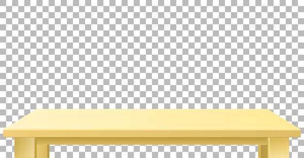 Plateau beige en bois ou en plastique clair.
