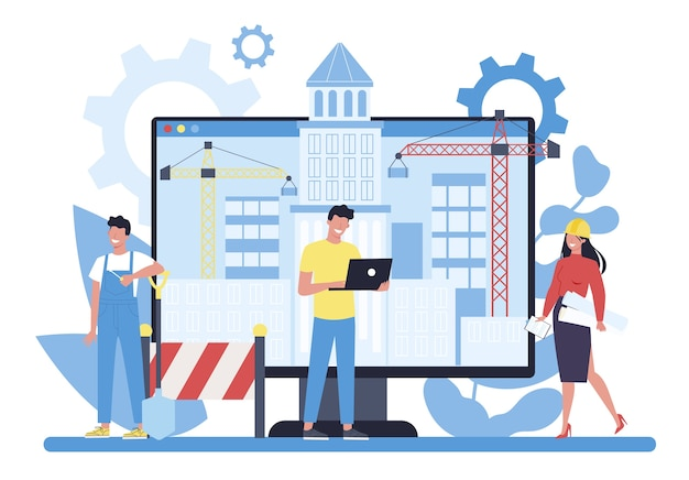 Plateforme de projet en ligne de construction de maisons