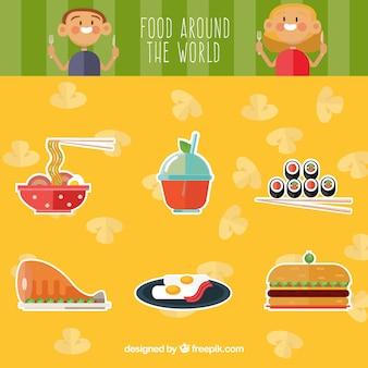 Des plats délicieux à travers le monde