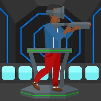 Pleine réalité virtuelle