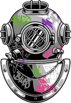 Plongez avec des graffitis