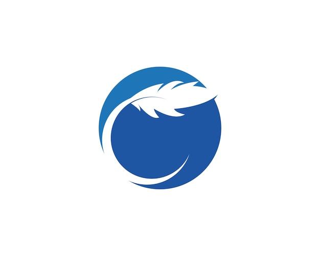 Plume icône illustration