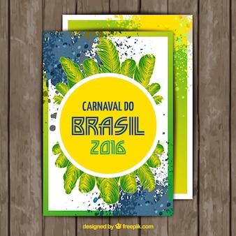 Plumes brasil carte de carnaval