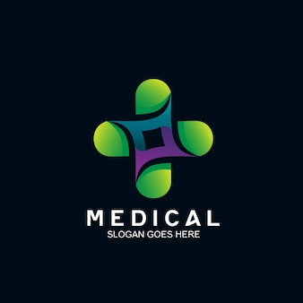 Plus conception de logo médical