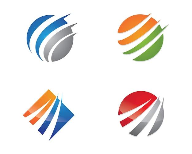 Plus rapide logo template vecteur icône illustration design