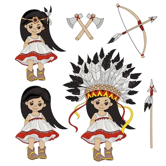 Pocahontas vacances princesse indienne