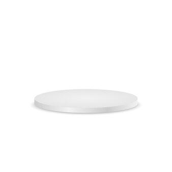 Podium rond, socle ou plateforme isolé