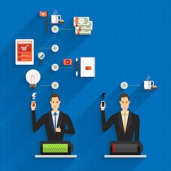 Poer of brain inside pense au marketing numérique