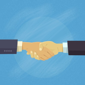 Poignée de main business people hands shake concept d'accord