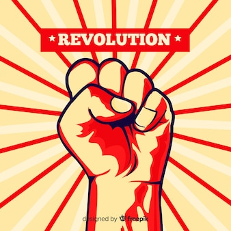 Poing levé pour la révolution
