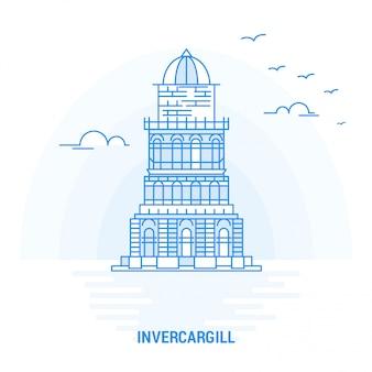 Point de repère bleu d'INVERCARGILL