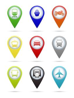 Pointeurs de transport