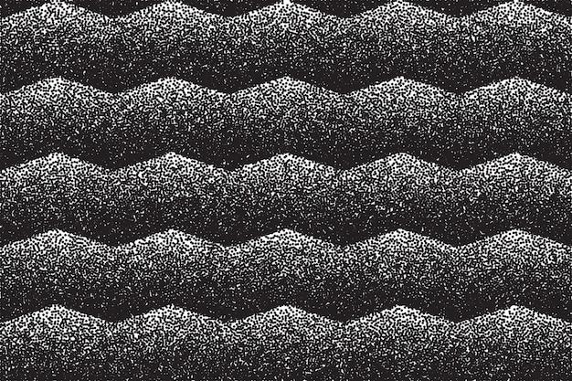 Pointillé dotwork texture abstrait grunge fond