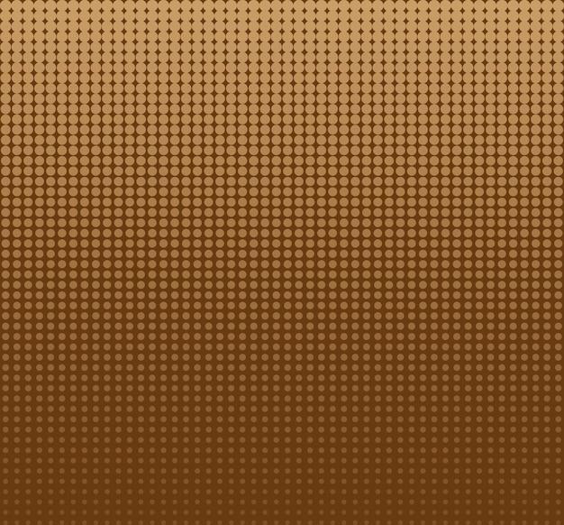 Points de cercle de demi-teintes sans soudure abstract vector background ou texture pour modèle de conception