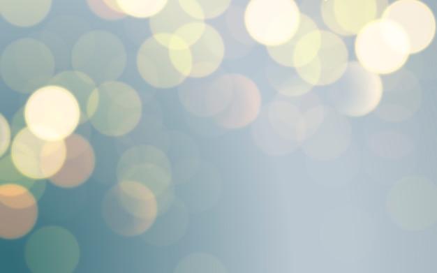 Points de lumière floue abstraite