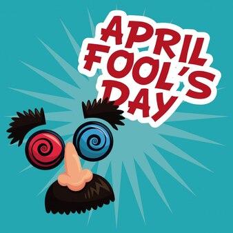 Poisson d'avril face à un blague