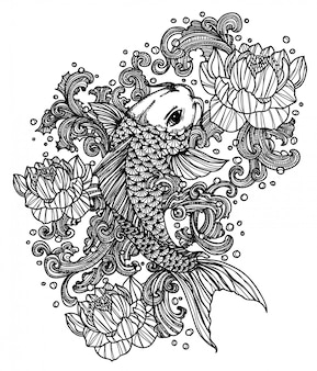 Poisson tatouage