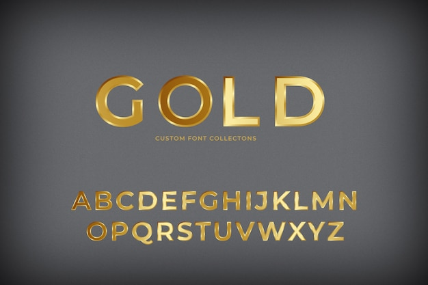 Police 3d gold