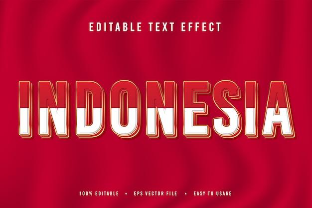 Police de l'indonésie décorative