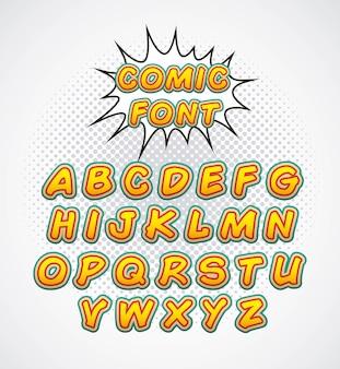 Police pop alphabet pop art