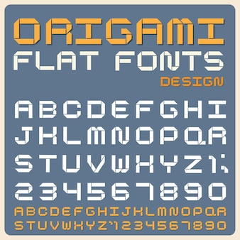 Police de type rétro, typographie vintage.