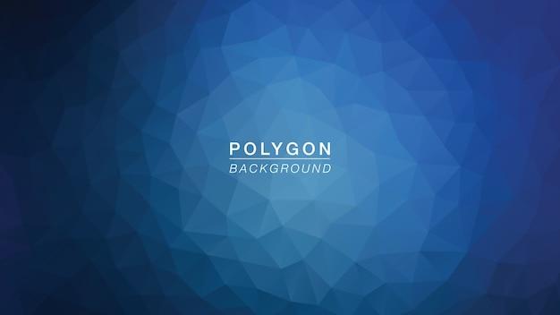 Polygon dark night blue