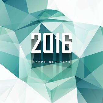 Polygonale 2016 fond dans les tons turquoise