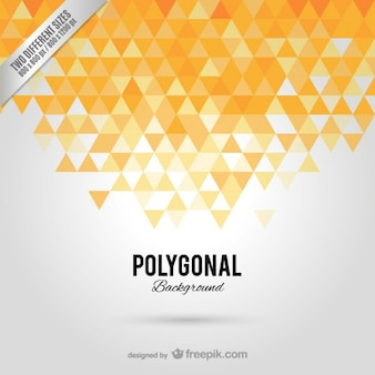 Polygonale fond abstrait