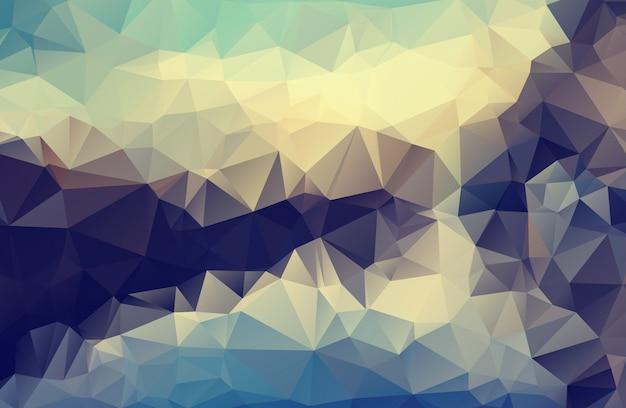 Polygone abstrait polygonale triangle géométrique fond