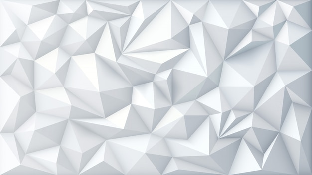 Polygone abstrait triangle géométrique polygonal