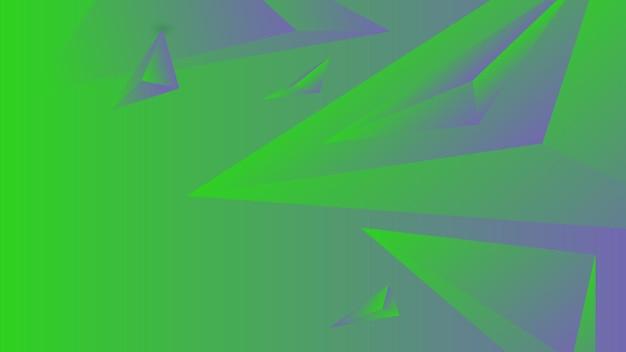 Polygone, abstrait vert lime, illustration vectorielle de fond d'écran dégradé violet