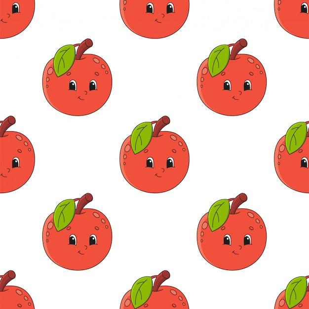 Pomme heureuse