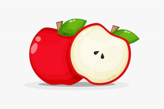 Pommes et tranches de pomme
