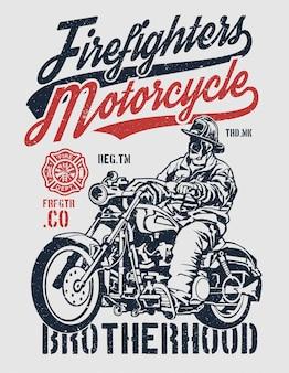 Pompiers moto