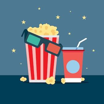 Popcorn drink cinema