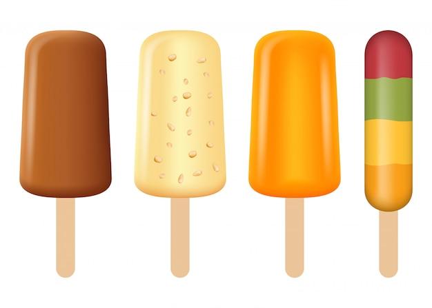 Popsicle icon set