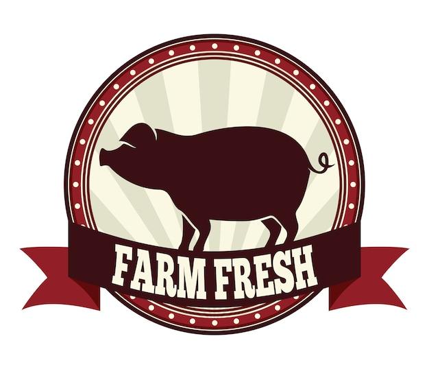 Porc frais de ferme