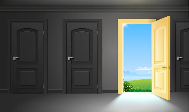 La porte en été