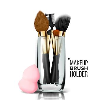 Porte-pinceau de maquillage