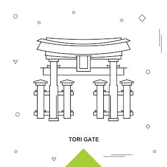 Porte de tori