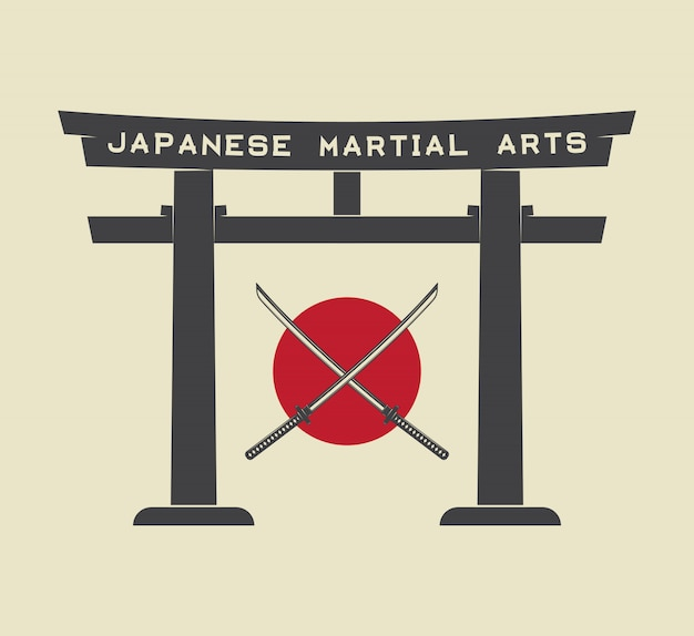Porte torii japonaise