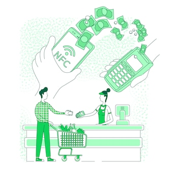 Portefeuille mobile, paiement électronique