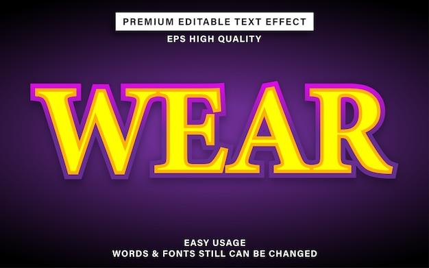 Porter un style d'effet de texte