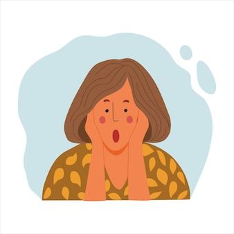 Portrait émotionnel des femmes