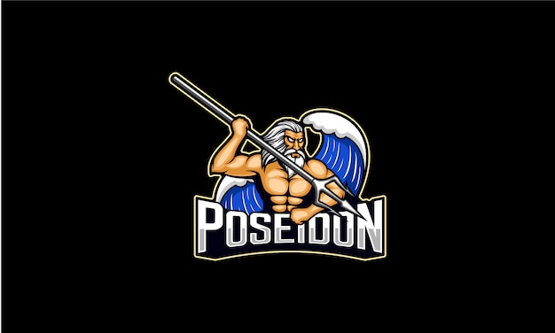 Poseidon logo esport