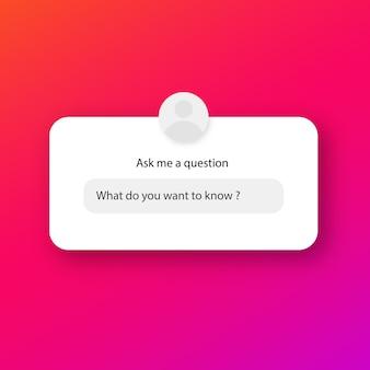 Posez moi un formulaire de question