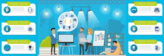 Possibilités de communication en champ proche pour les entreprises