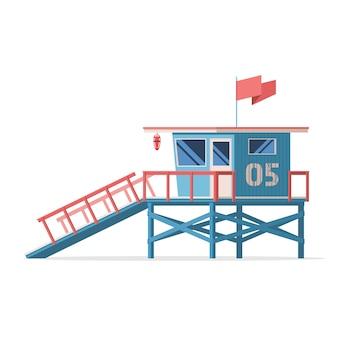Poste de garde côtière